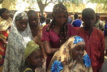 Refugiados de la República Centroafricana en Chad.