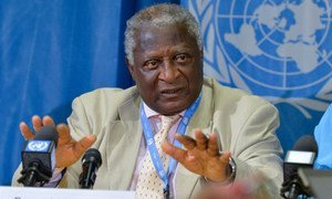 Bernard Acho Muna, Chairperson of the International Commission of Inquiry on the Central African Republic.
