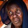 Mujer desplazada por la violencia en Darfur  Foto: