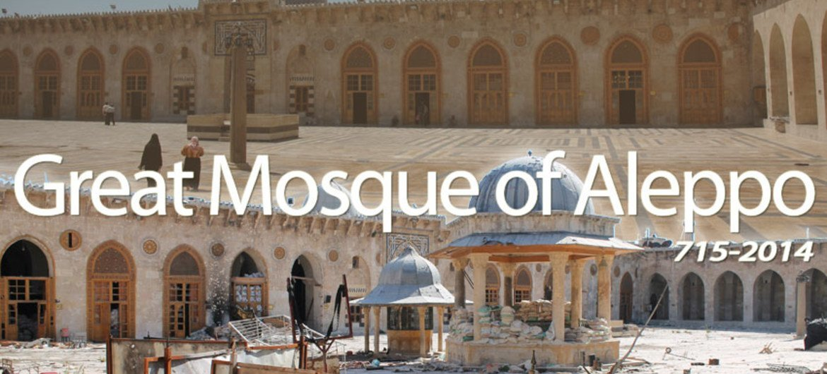 Three UNESCO World Heritage Sites in Syria are being used for military purpose and this raises the risk of imminent and irreversible destruction.