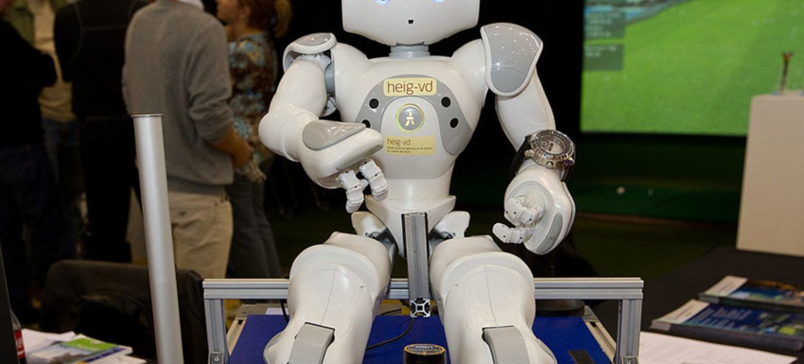 Nono-Y the robot was one of the highlights of the 2012 Geneva Inventions Fair.