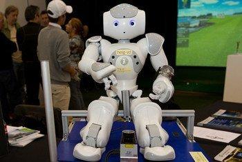 Le robot Nono-Y a été l'un des moments forts de la Foire des inventions de Genève 2012.