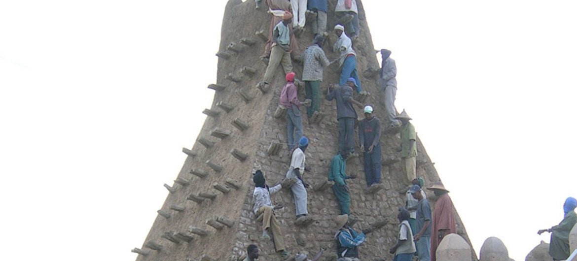 The rehabilitation of the cultural heritage of Timbuktu is crucial for the people of Mali, for the city's residents and for the world.
