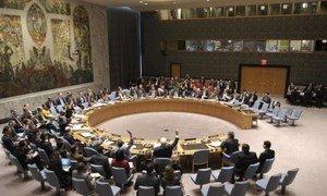 Le Conseil de sécurité. Photo ONU/Eskinder Debebe