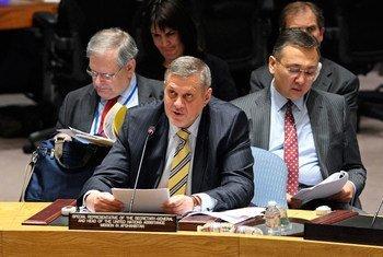 Le Représentant spécial du Secrétaire général des Nations Unies pour l'Afghanistan, Jan Kubis.