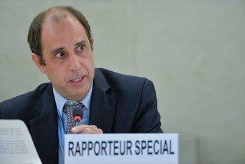 联合国朝鲜人权状况问题特别报告员金塔纳。