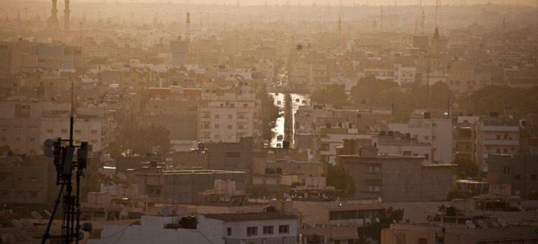 La ville de Benghazi en Libye.