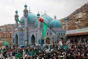 الاحتفالات بعيد النوروز في أفغانستان