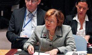 Special Representative and Head of the UN Stabilization Mission in Haiti (MINUSTAH) Sandra Honoré.