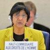 La Alta Comisionada de la ONU para los Derechos Humanos, Navi Pillay  Foto archivo: ONU/Marc Ferré