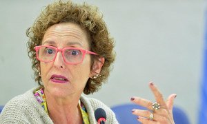 Special Rapporteur on the right to housing Raquel Rolnik.
