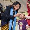 Vacunación contra la polio en India Foto:OMS-SEARO/Anuradha Sarup