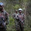 马拉维维和士兵在刚果(金)任务区巡逻。联合国图片/Sylvain Liechti