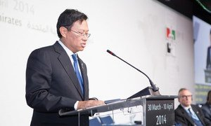 Minister for Communications and Multimedia of Malaysia Ahmad Shabery Cheek calls on the ITU to develop leading edge standards to facilitate the transmission of flight data in real time.