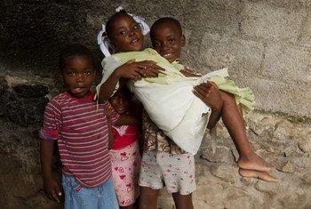 Une épidémie de choléra affecte Haïti depuis octobre 2010. Photo MINUSTAH/Logan Abassi