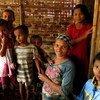 Desplazados en el estado de Rakhine, Myanmar  Foto:OCHA/Michelle Delaney