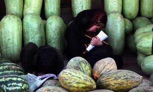 Une jeune fille étudie en Afghanistan. Photo MANUA