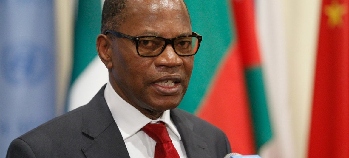 Mohamed Ibn Chambas, Special Representative of the Secretary-General and Head of the United Nations Office for West Africa and the Sahel (UNOWAS).