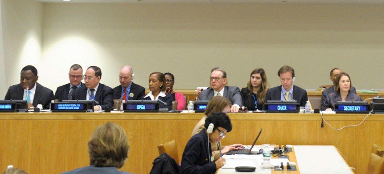 Ouverture de la session de la Commission des Nations Unies sur la population et le développement. Photo ONU/Eskinder Debebe