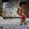 Destrucción en la ciudad sitiada de Homs, Siria   Foto: PMA/Abeer Etefa