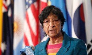 La Haut-Commissaire des Nations Unies aux droits de l'homme, Navi Pillay. Photo ONU/Paulo Filgueiras
