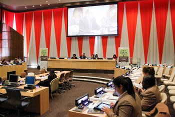 Sala del ECOSOC  Foto archivo: ONU/ Paulo Filgueiras