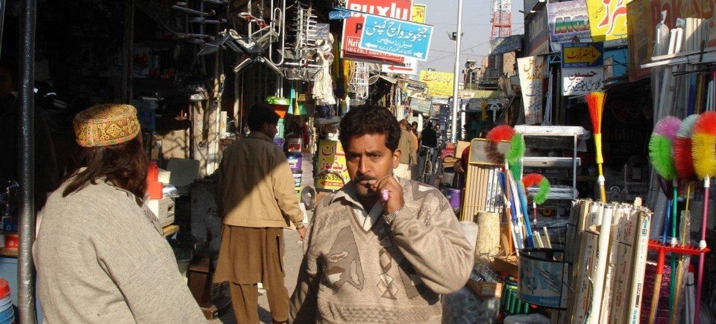 巴基斯坦一街景。图片提供:IRIN/David Swanson