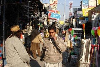 巴基斯坦一街景。