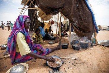 Desplazados en Sudán  Foto.ONU/Albert González Farran