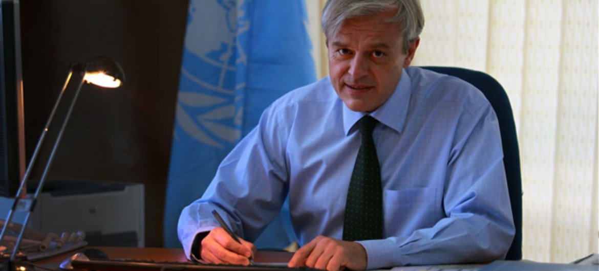 Jean-Luc Lemahieu, Director for Policy Analysis and Public Affairs at UNODC.