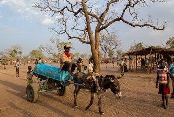 La ville frontalière de Yiba, au Soudan du Sud (photo archives). Photo ONU/Martine Perret