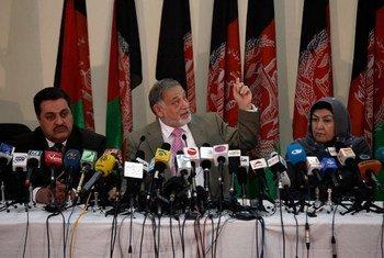 Commission électorale indépendante (CEI) annonce des résulats partiels de l'élection présidentielle en Afghanistan.