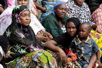 Desplazados por la violencia en Bangui, República Centroafricana   Foto: ONU/Evan Schneider