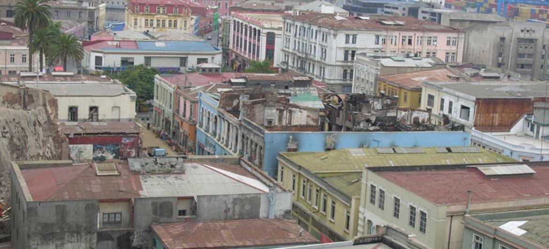 Ciudad de Valparaiso  Foto de archivo:   UNESCO/F. Bandari