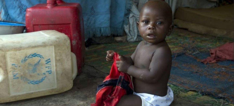 Un enfant centrafricain. Photo PAM/Rein Skullerud