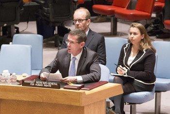 Le Sous Secrétaire général aux droits de l'homme, Ivan Simonovic. Photo ONU/Evan Schneider