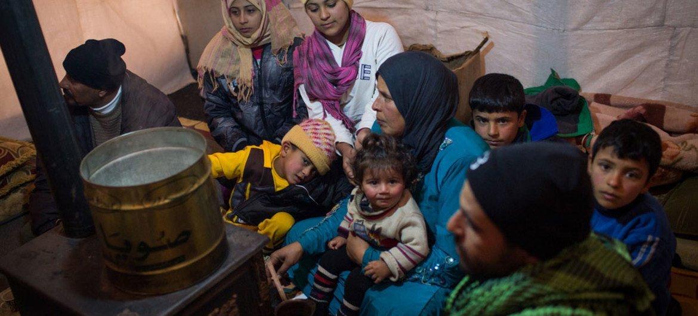 Refugiados sirios en Libano  Foto: ACNUR/A McConnell