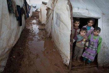Niños afectados por el conflicto en Siria  Foto: UNICEF/Giovanni Diffidenti