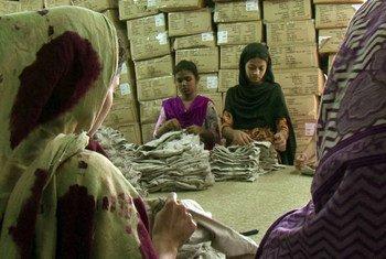 Trabajadoras en Bangladesh  Foto:  OIT