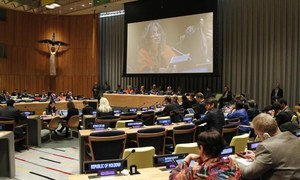 General Assembly holds thematic debate on 'Ensuring Stable and Peaceful Societies.'