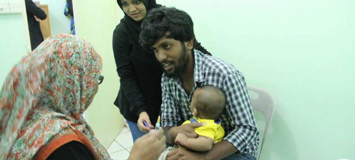 UN kicks off annual global immunization campaign and asks: 'Are you up to date?'