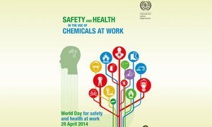 Poster for the World Day for Safety and Health at Work. Credits: ILO