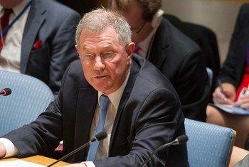 El coordinador especial de la ONU para el Proceso de Paz en Oriente Medio, Robert Serry   Foto:ONU/Eskinder Debebe