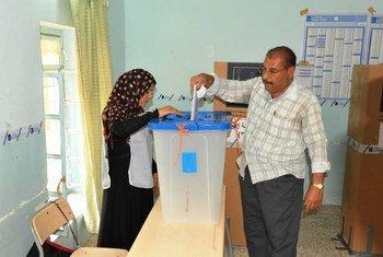 Elecciones parlamentarias en Iraq  Foto; UNAMI