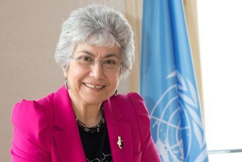 La Haut-Commissaire adjointe des Nations Unies aux droits de l'homme, Flavia Pansieri. Photo HCDH