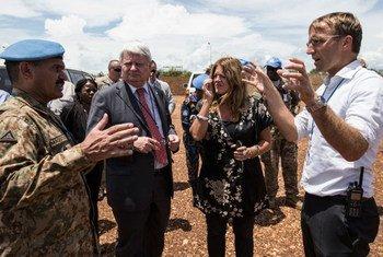 Hervé Ladsous au Soudan du Sud.