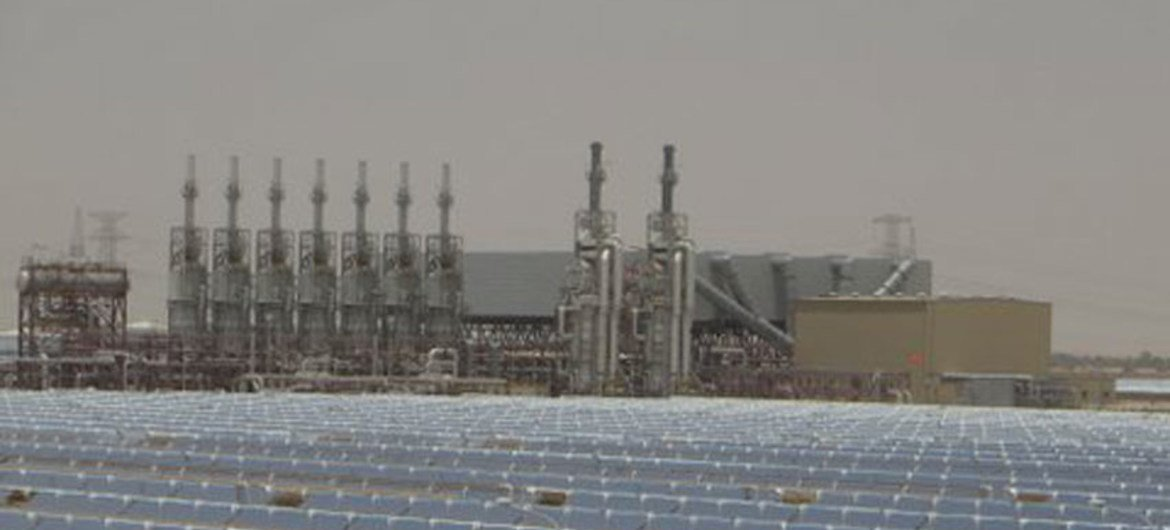 By harnessing the power of the sun, the United Arab Emirates is cutting greenhouse gas emissions, generating jobs and a laying the foundation for low-carbon economic progress.