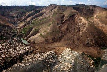 Des centaines de personnes ont été tuées par des glissements de terrain dans le nord-est de l'Afghanistan. Photo MANUA/Fardin Waezi
