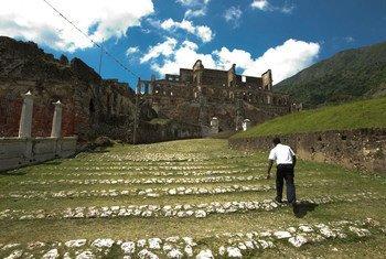 Palacio de Sans Souci, de dos siglos de antiguedad, en Haití  Foto: