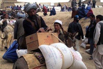 Des Afghans dans la province de Badakshan. Photo UNIFEED capture d'image